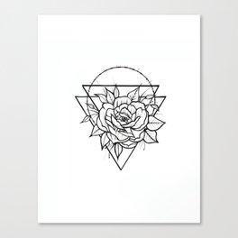 Crown Of Thorns - B&W Canvas Print
