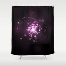 Electronic Sparkle Shower Curtain