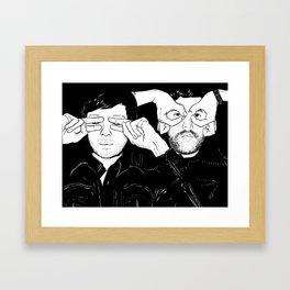 Justice Framed Art Print