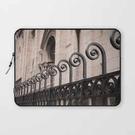 Sacre Coeur Rounded Railing Detail Laptop Sleeve