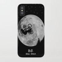 gta iPhone & iPod Cases featuring GTA Bike Glitch by JOlorful