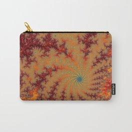 Crimson Alley - Fractal Art Carry-All Pouch