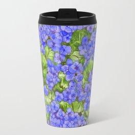 Hydrangeas Travel Mug
