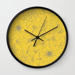 Aurulent Wall Clock