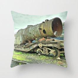 Warwell Boiler Throw Pillow
