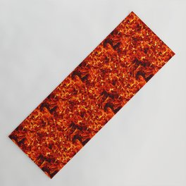 Fire for decorative products Yoga Mat