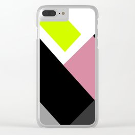 Imperfect Geometry Clear iPhone Case