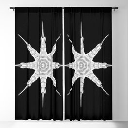 Ninja Star 2 Blackout Curtain