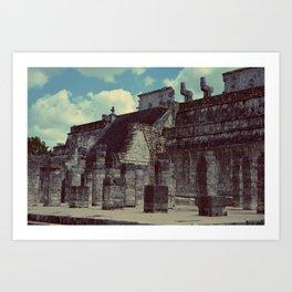 Temple of the Warriors (2) [Dim] Art Print