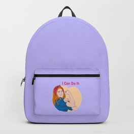 Lydia can do it Backpack