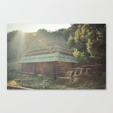 Water house Canvas Print