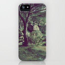 Nature rocks V iPhone Case