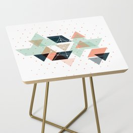 Midcentury geometric abstract nr 011 Side Table