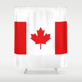 flag canada Shower Curtain