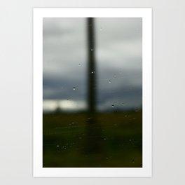 Road of Uncertainty  Art Print
