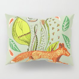 Every Fox...fox, sayings, typography, quote, nature, leaves Pillow Sham