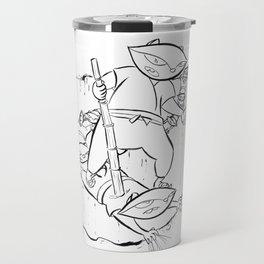 Ninja Master of Illusion Travel Mug