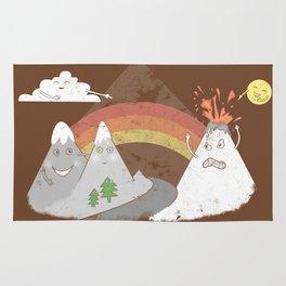 Volcano Fact Rug