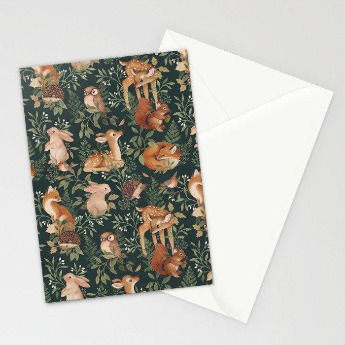 Nightfall Wonders Stationery Cards