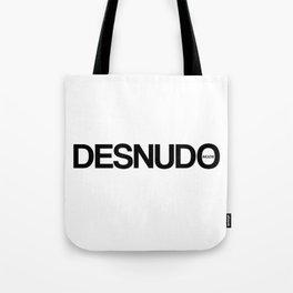 Desnudo Black Tote Bag