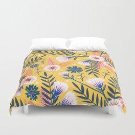 Sunshine florals Duvet Cover