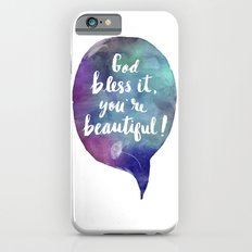 God bless it, you're beautiful! (Valentine Love Note) iPhone 6s Slim Case