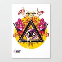 mcnfm_zero três Canvas Print