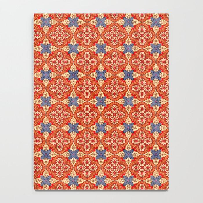 Moroccan Motet Pattern Notebook