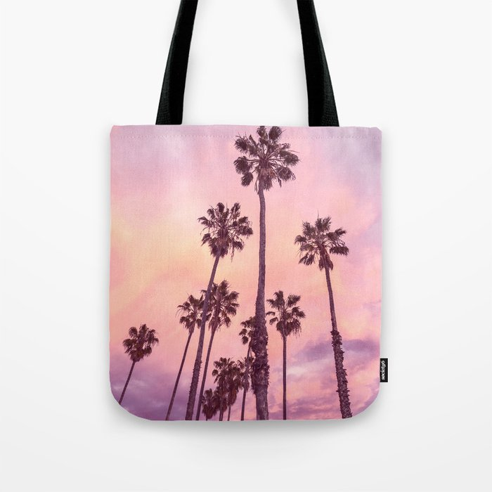 Palms to Pink World Tote Bag