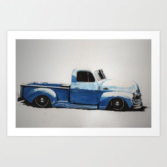 My First Truck Art Print