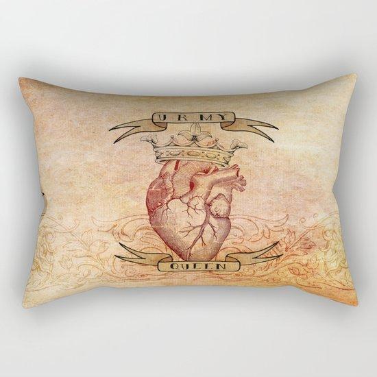 You Are My Queen Rectangular Pillow
