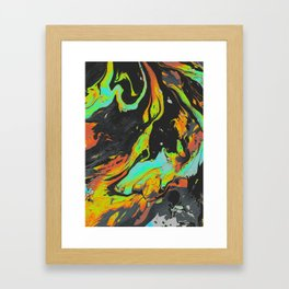 SLOW HANDS Framed Art Print