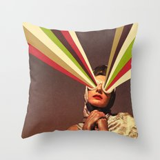 Rayguns Throw Pillow