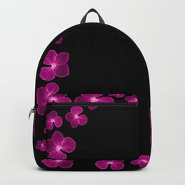 Magenta Flower Chain Backpack