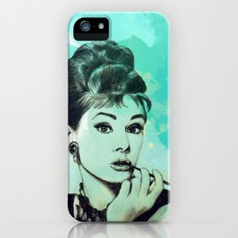 Holly Golightly iPhone Case