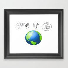 And I think to myself Framed Art Print