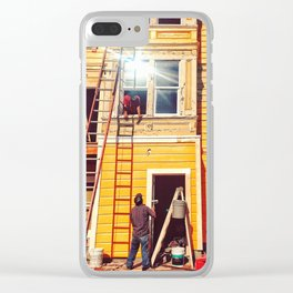 Hardworking Clear iPhone Case