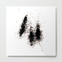 Ant Pile Metal Print
