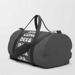 Dungeons and Dragons Abilities Duffle Bag