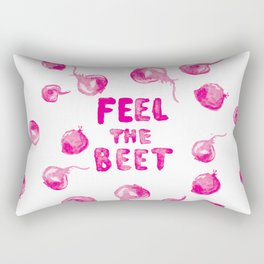 Feel the Beet Rectangular Pillow