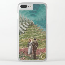 Field of Vision Clear iPhone Case