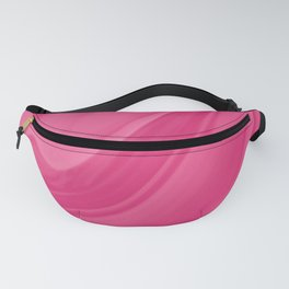 Magenta Liquid Marble Background Fanny Pack