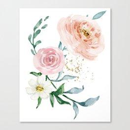 Rose Arrangement No. 1 Canvas Print