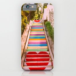 Micheltorena Stairs iPhone Case