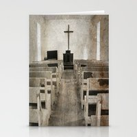 bible Stationery Cards featuring Bible Print by Gia Jury