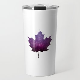 Purple Maple Leaf - Oh Canada Travel Mug