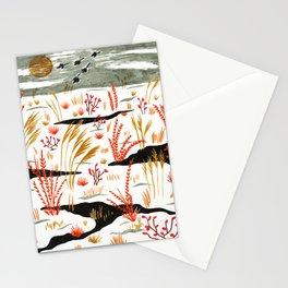 Night Snow illustration by Amanda Laurel Atkins Stationery Cards