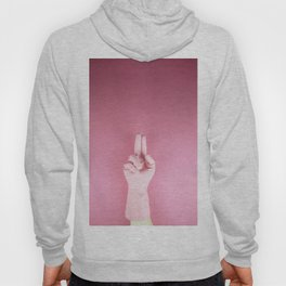 Mighty pink glove Hoody