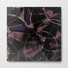 Abstract mosaic pattern Metal Print