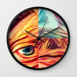 selfy 50 Wall Clock